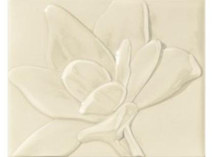 Epoca Ceramica Le Vernis Formella Fleurs A Beige (комплект из двух штук)