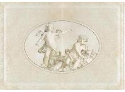 Europa Ceramica Travertino Florence  (из 2-х элементов)