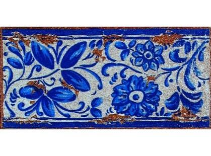 Exagres Gresan gr4. Antiga Azul Вставка-подступенник