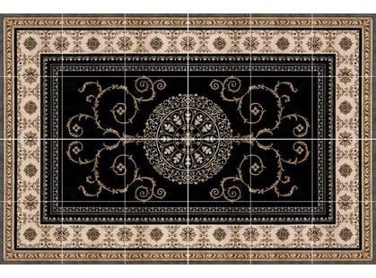 Expotile Carpets ANKARA NEGRO (комплект 24шт 50*50)