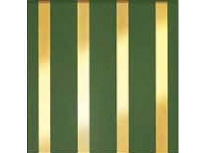 Fabresa Chelsea-Ritz Verde Stripes (Gold)