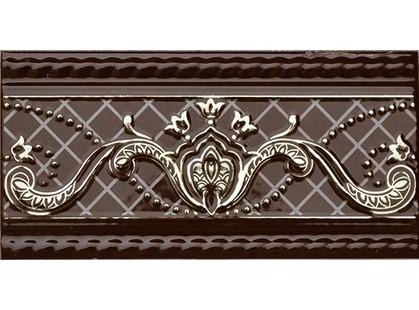 Fabresa Paisley Border Chocolate
