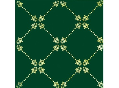 Fabresa Paisley Net Decor Verde Botella
