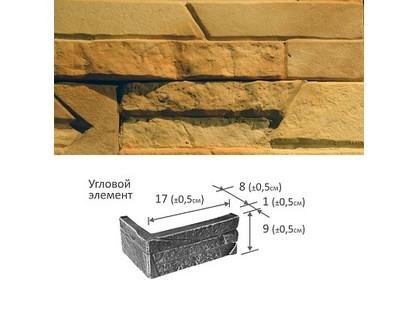 Фабрика камня Скала Угловой Элемент Песочная