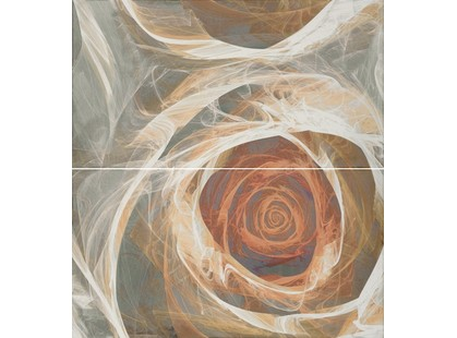 Fanal Carrara Decorado  Flor 1 (в комплекте 2 плитки)