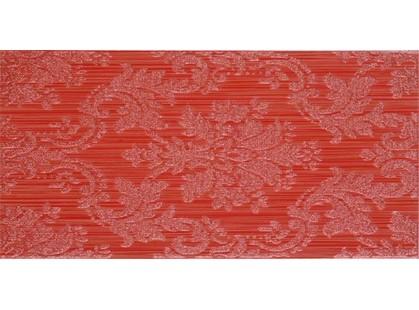 Fanal Line Decorado  Damasco Rojo