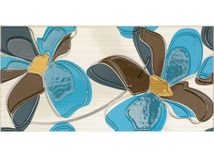 Fanal Line Decorado Line Flor Azul
