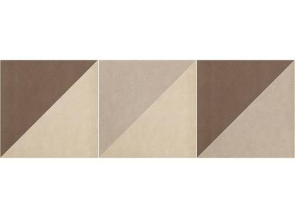 Fap Ceramiche Base Shape Terre Inserto MIX 3