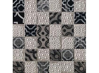 Fap Ceramiche Creta Maiolica Grey Mosaico