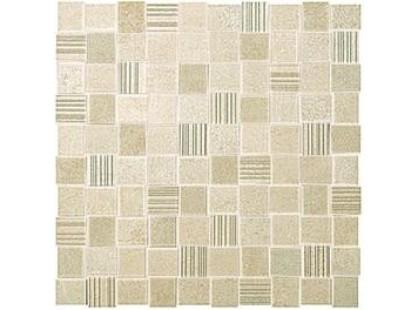 Fap Ceramiche Desert Check Beige Mosaico