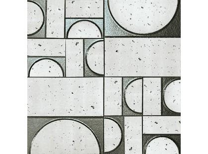 Fap Ceramiche Evoque Sigillo Argento Inserto Mosaico