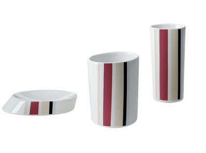 Fap Ceramiche Fap+ Set Accessori Tratto Bordeaux