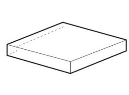 Fap Ceramiche Nuances Угл. Левая Rovere Scalino Angolare SX RT