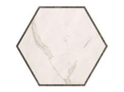 Fap Ceramiche Roma Deco Esagono Calacata Imperiale