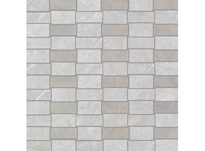 Fap Ceramiche Supernatural Check Argento Mosaico