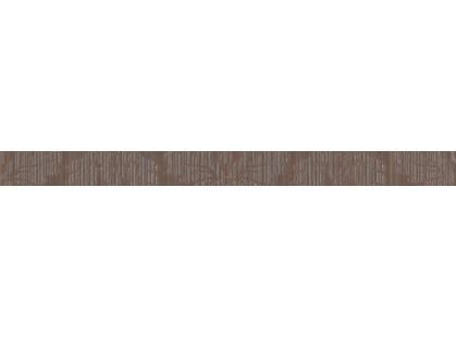 Fap Ceramiche Velvet+ Damasco Brown Listello 2,5x30,5
