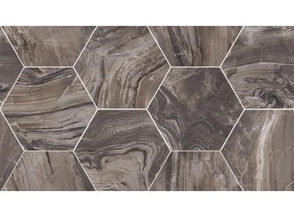 Flaviker PI.SA Supreme Exotic Brown Mosaico Hexagon Rett.