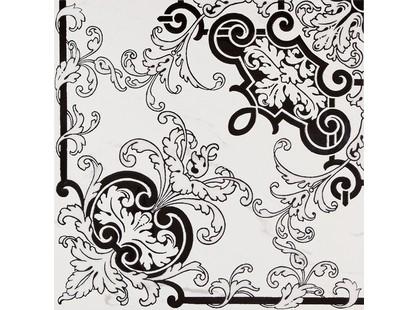 Fmg Marmi style Rosone Angolo Statuario Venato