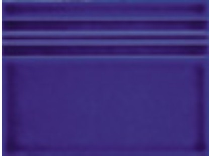 Gaya Fores Gardenia Liso Relieve Azul Antic