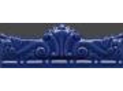 Gaya Fores Gardenia Moldura Gotica Azul Antic
