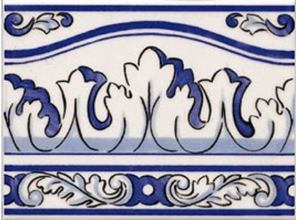Gaya Fores Lisboa Cenefa Azul