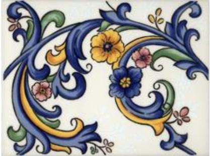Gaya Fores Galan iris Flor Iris