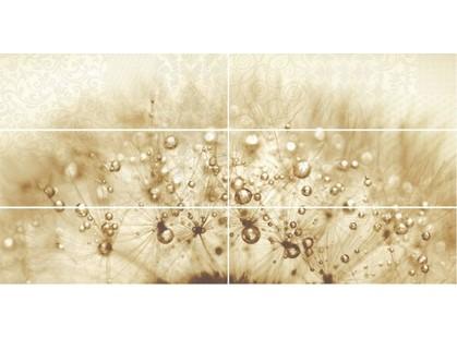 Global Tile Elle 1693-0002 Одуванчик (из 6-и пл.)