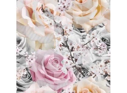 Global Tile Gesso 1661-0001 Роза (из 3-х пл.)