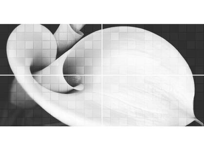 Global Tile Unica 1608-0108  Graphite  Кала(комплект 4шт.)