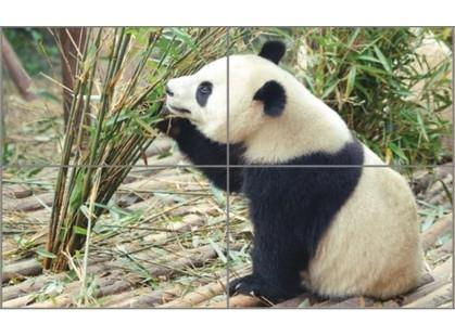 Golden Tile Bamboo Панда (из 4-х штук)