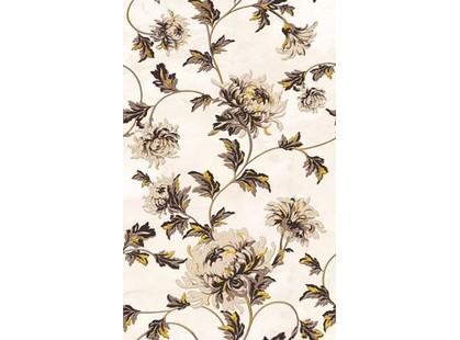 Golden Tile Октава Бежевый Цветы