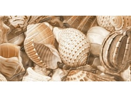 Golden Tile Sea Breeze Декор Shells 2