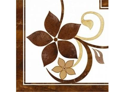 Global Tile Teseo Угловой элем. нап. корич. 3646-0102
