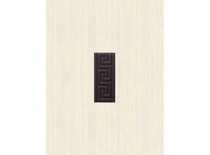 Golden Tile Вельвет Меандр коричневый