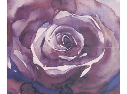 Gracia Ceramica Arabeski Purple Panno  (из 2-х плиток)