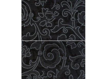 Gracia Ceramica Pelegrina Black Panno (из 2-х плиток)