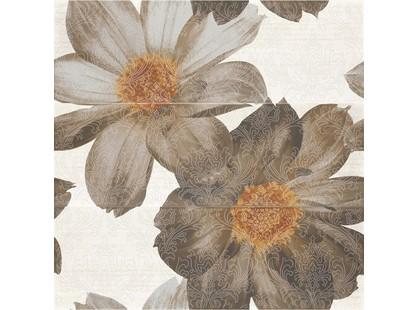 Grupa Paradyz Niki / Nikita Brown Panel Flower