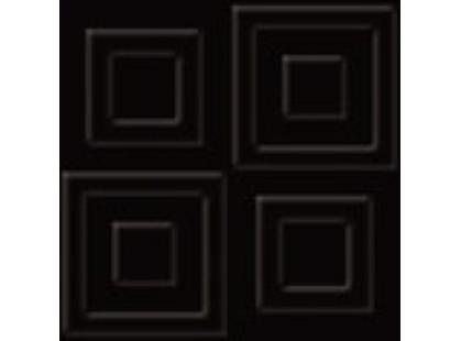 Grupa Paradyz Ton Ton Nero struktura D Декор 10х10