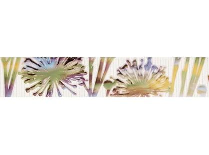 Grupa Paradyz Violino Bianco Listwa Kwiat