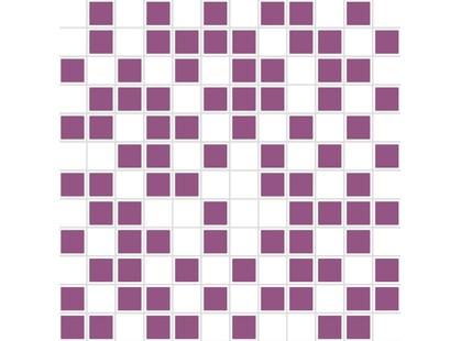 Halcon Ceramicas Aire Mosaico Organza Blanco-Lila