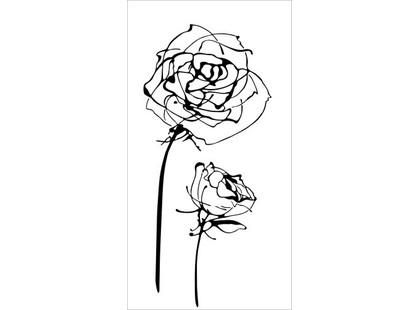 Halcon Ceramicas Blancos Decor Roses Blanco
