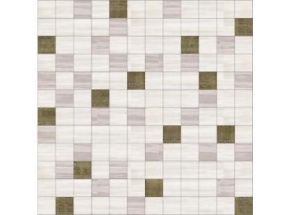 Halcon Ceramicas Cotton, Vega, Viola, Aquarela Aquarela Mosaico Cotton-Crema