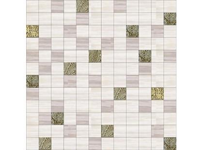 Halcon Ceramicas Cotton, Vega, Viola, Aquarela Aquarela Mosaico Gold-Crema
