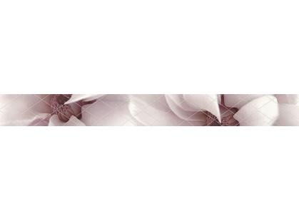 Halcon Ceramicas Cotton, Vega, Viola, Aquarela Listelo Viola Malva