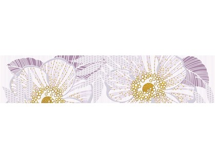 Halcon Ceramicas Cristal/ Prisma Flower Lila 1