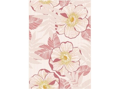 Halcon Ceramicas Cristal/ Prisma Flower Rosa