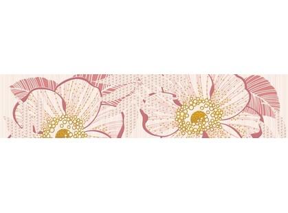 Halcon Ceramicas Cristal/ Prisma Flower Rosa 1