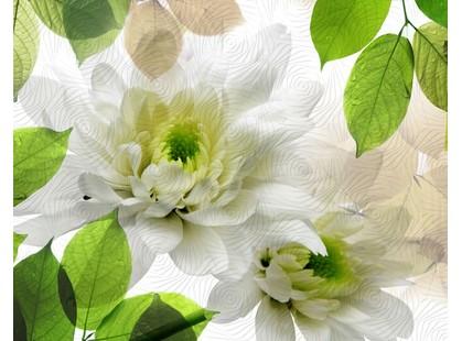 Halcon Ceramicas Evoque Decor Blanco 2pz