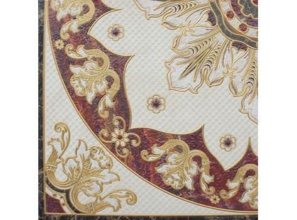 Halcon Ceramicas Faberge Roseton Decor Esq