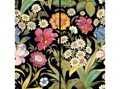 Halcon Ceramicas Flowers Panno